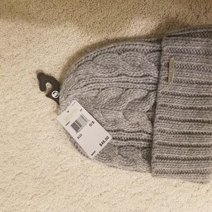 Michael Kors Ribbed Cable Knit Hat